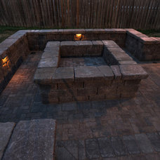 Traditional Patio by Wildwood Land Design