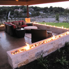 mediterranean firepits by Ancient Surfaces