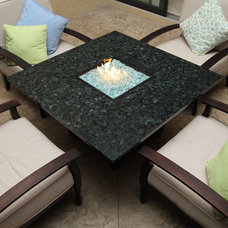 Contemporary Patio by Firetainment, Inc.