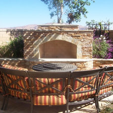 Mediterranean Patio by Affordable Landscaping Solutions
