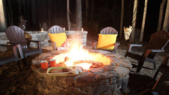 Firepit in the woods