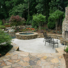 Traditional Deck by Legacy Landscapes, Inc.