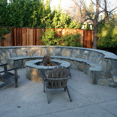Traditional Patio by Legacy Landscape