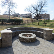 Traditional Patio by Creative Stone Landscaping