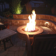 Traditional Patio by Design Resource Group, LLC
