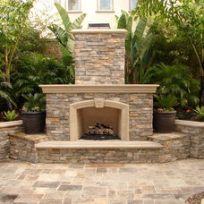 Traditional Patio by Mclaughlin Landscape Construction