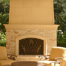 Traditional Patio by Pacific Stone Design Inc