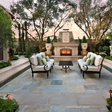 Mediterranean Patio by Pacific Stone Design Inc