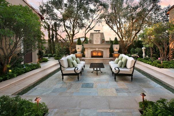 Mediterranean Patio by Pacific Stone Design Inc