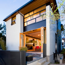 Contemporary Patio by Lane Williams Architects
