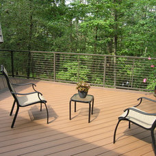 Contemporary Patio by Hertzler & George