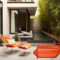 modern exterior by Chris Barrett Design