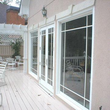 Fixed windows and patio doors - Exterior