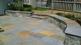 Flagstone Patio and Wall