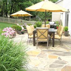 Traditional Patio by Involving Color and Home