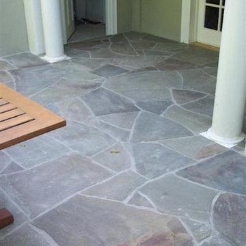 Flagstone Patio - Pennsylvania Blue Stone