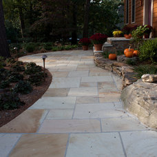 Traditional Patio by The Stone Store