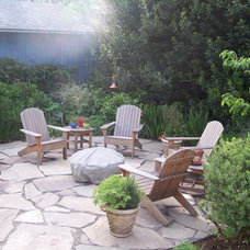 Contemporary Patio by VALLEY LANDSCAPE CENTER
