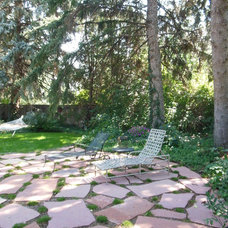 Traditional Patio by Bloom Concrete & Landscape