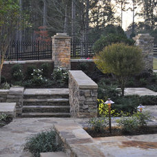 Traditional Patio by Charles Hodges Ltd. Gardens