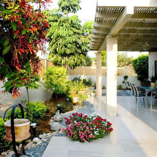 Modern Patio by Asher Elbaz