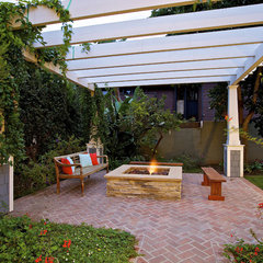 traditional patio by Christian Rice Architects, Inc.