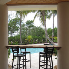 Tropical Patio by Progressive Construction, Inc.