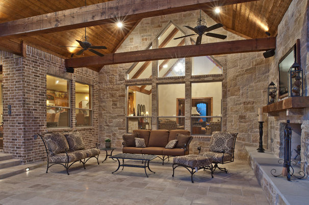 Contemporary Patio by Drew Walling Custom Homes