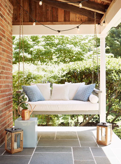 Transitional Patio by Alexis Courtney Photography