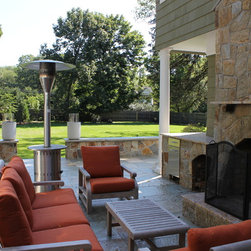 """FOR THE LOVE OF LIVING OUTDOORS - Westport CT. WITH A LOVE of outdoor living, these Connecticut homeowners wanted to outfit their open-air area for maximum enjoyment. Envisioning a space especially for cooking, dining, and relaxing, they hired Michael Gotowala, principal designer and president of Preferred Properties Landscaping and Masonry, whose motto is to """"live beyond the walls of your home outdoors."""""""