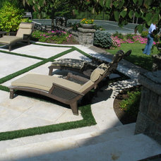 Traditional Patio by The Landscape Group - TLG Design