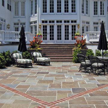 Formal patio
