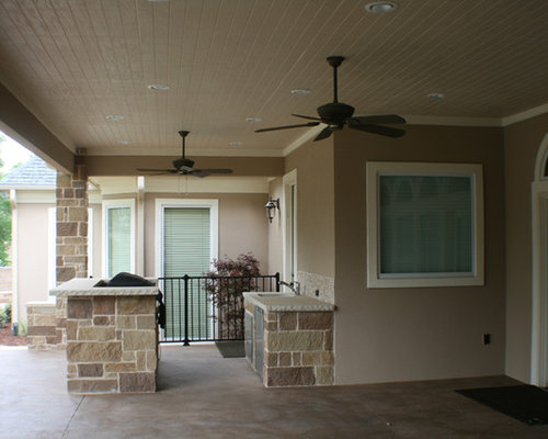 Fort Worth South Lake covered patio, open patio, outdoor