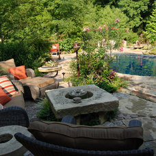 Traditional Patio by Landscapes by Dallas Foster, Inc