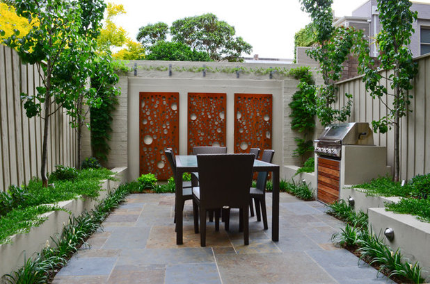 Contemporary Patio by OUTHOUSE design