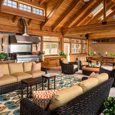 Traditional Patio by Designs Galore, LLC