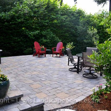 Traditional Patio by Lewis Landscape Services, Inc.