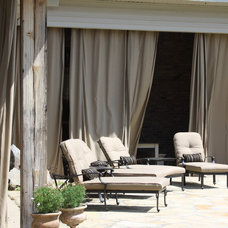 Traditional Patio by Interiors 360