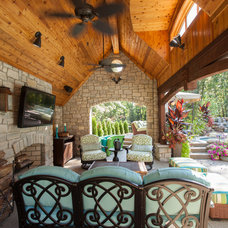 Traditional Patio by M.J. Whelan Construction