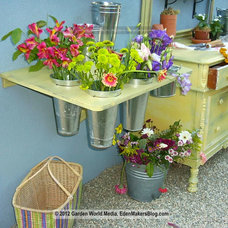 Eclectic Patio by Shirley Bovshow