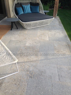 landscape paving 101 how to use limestone for your patio