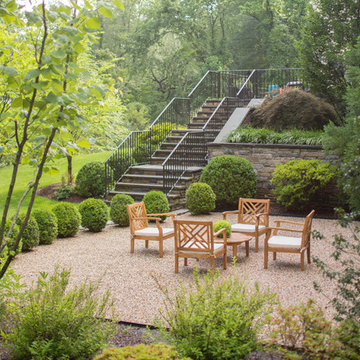French Provincial Stone House in Harrison, NY