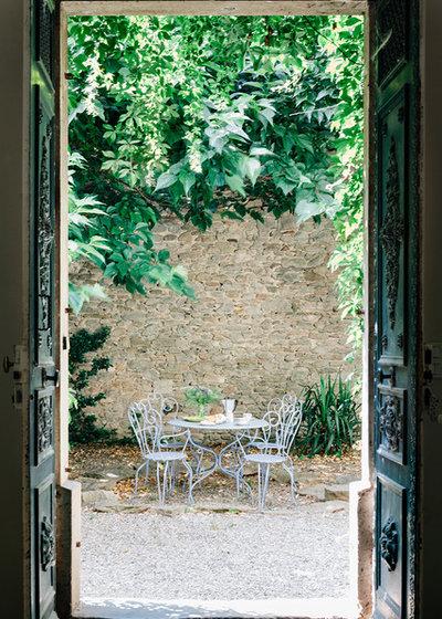 Mediterranean Patio by Rosie Browne-Clayton Designs