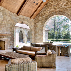 Traditional Patio by Parker House Inc.
