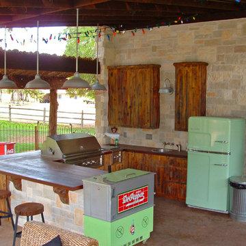 Frisco Cabana Outdoor Kitchen