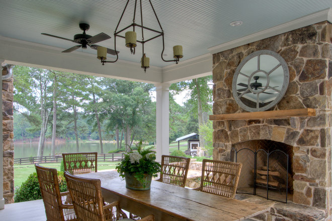 Farmhouse Patio by Historical Concepts