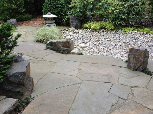 Asian Patio by Little Miracles Designs