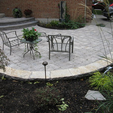Mediterranean Patio by Paradise views landscaping