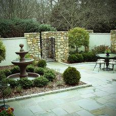 Traditional Patio by Arrington Landscape Architecture