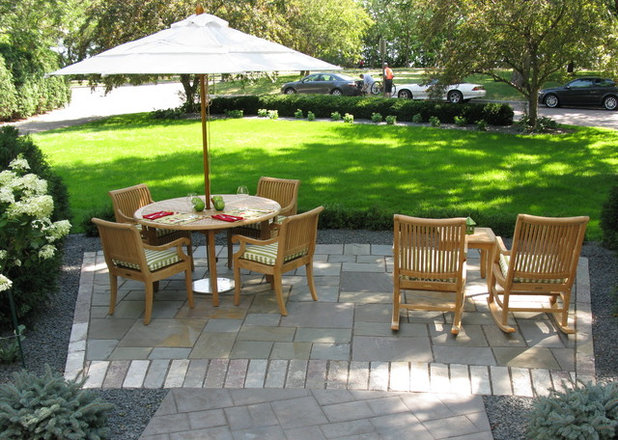 Contemporary Patio by Mike Porwoll - Bachman's Landscaping